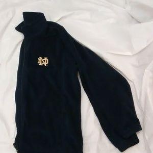 Columbia Fleece Jacket Indiana Fighting Irish
